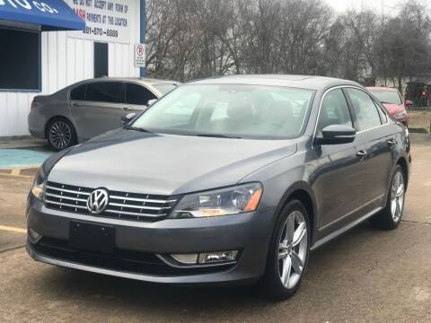 2015 Volkswagen Passat for sale at Discount Auto Company in Houston TX
