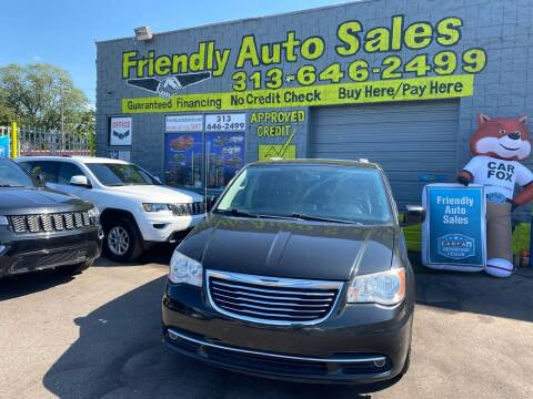 2014 Chrysler Town and Country for sale at Friendly Auto Sales in Detroit MI