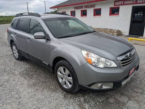 2010 Subaru Outback for sale at Sarpy County Motors in Springfield NE