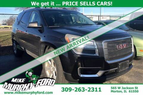 2014 GMC Acadia for sale at Mike Murphy Ford in Morton IL