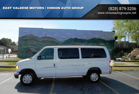 2007 Ford E-Series Wagon for sale at EAST VALDESE MOTORS / VINSON AUTO GROUP in Valdese NC