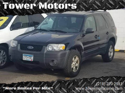 2006 Ford Escape for sale at Tower Motors in Brainerd MN