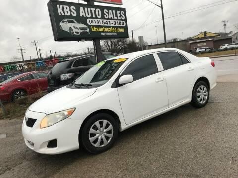 2010 Toyota Corolla for sale at KBS Auto Sales in Cincinnati OH