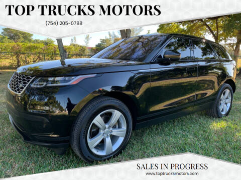 2020 Land Rover Range Rover Velar for sale at Top Trucks Motors in Pompano Beach FL