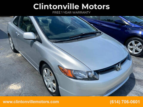 2008 Honda Civic for sale at Clintonville Motors in Columbus OH