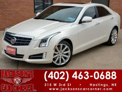 2014 Cadillac ATS for sale at Jacksons Car Corner Inc in Hastings NE