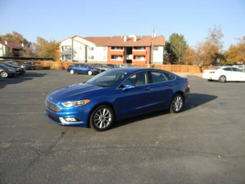 2017 Ford Fusion for sale at INVICTUS MOTOR COMPANY in West Valley City UT