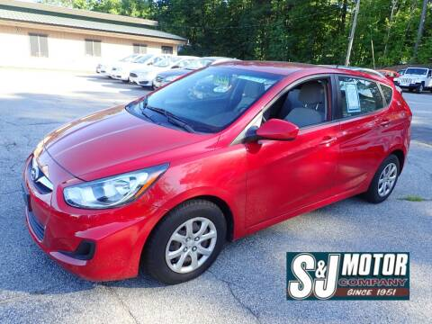 2012 Hyundai Accent for sale at S & J Motor Co Inc. in Merrimack NH