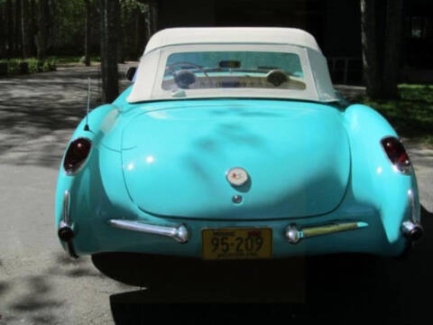 1957 Chevrolet Corvette for sale at Hines Auto Sales in Marlette MI
