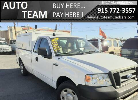 2008 Ford F-150 for sale at AUTO TEAM in El Paso TX