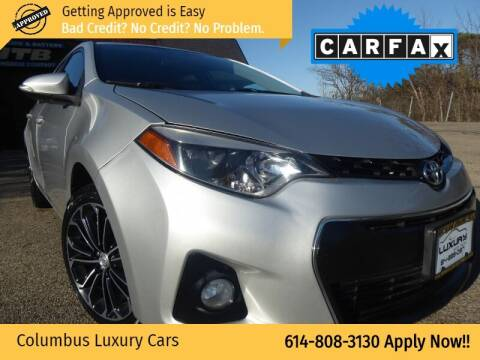 2014 Toyota Corolla for sale at Columbus Luxury Cars in Columbus OH