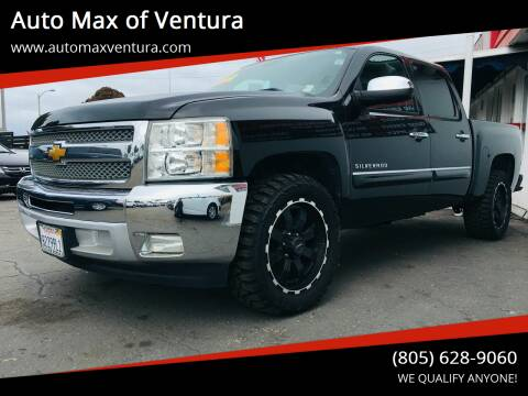 2013 Chevrolet Silverado 1500 for sale at Auto Max of Ventura in Ventura CA