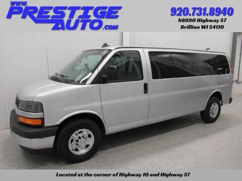 2017 Chevrolet Express Passenger for sale at Prestige Auto Sales in Brillion WI