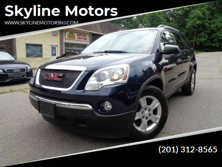 2011 GMC Acadia for sale at Skyline Motors in Ringwood NJ