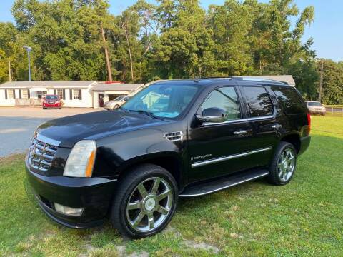 2008 Cadillac Escalade for sale at Robert Sutton Motors in Goldsboro NC