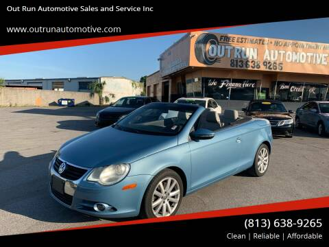 2010 Volkswagen Eos for sale at Out Run Automotive Sales and Service Inc in Tampa FL