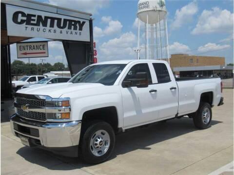 2019 Chevrolet Silverado 2500HD for sale at CENTURY TRUCKS & VANS in Grand Prairie TX