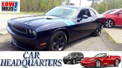 2011 Dodge Challenger for sale at CAR  HEADQUARTERS in New Windsor NY