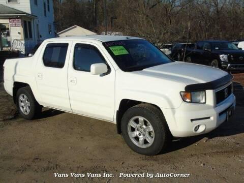 2007 Honda Ridgeline for sale at Vans Vans Vans INC in Blauvelt NY