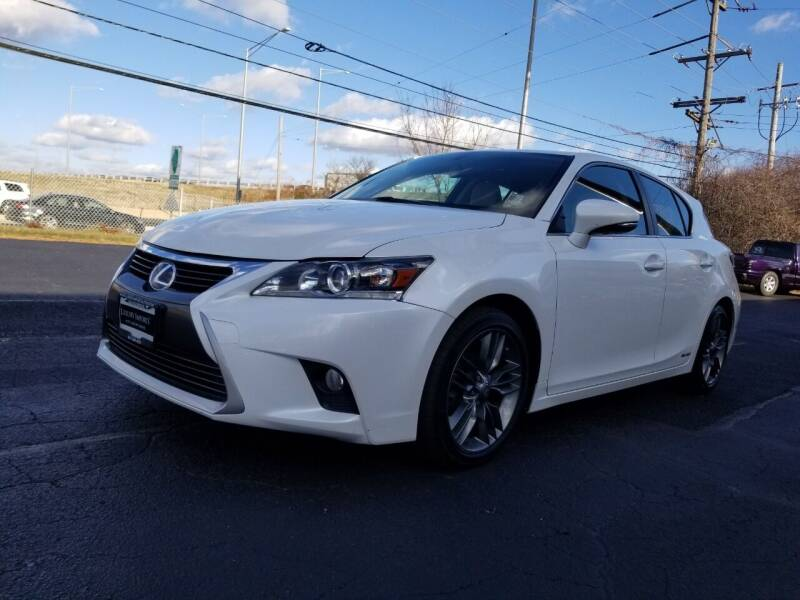 2014 Lexus CT 200h for sale at Luxury Imports Auto Sales and Service in Rolling Meadows IL
