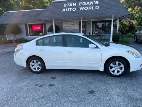 2008 Nissan Altima for sale at STAN EGAN'S AUTO WORLD, INC. in Greer SC