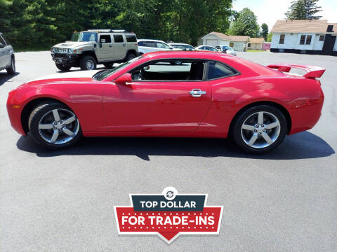 2011 Chevrolet Camaro for sale at Woolley Auto Group LLC in Poland OH