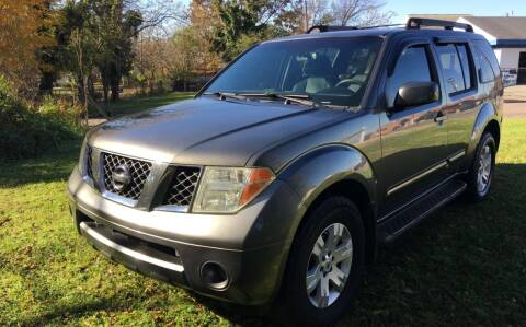 2005 Nissan Pathfinder for sale at Rodeo Auto Sales Inc in Winston Salem NC