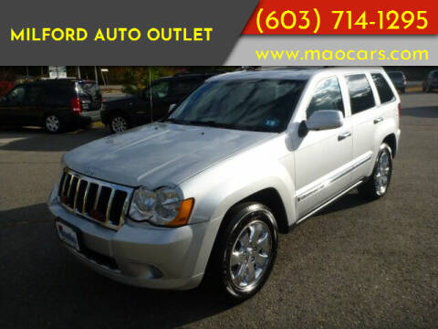 2010 Jeep Grand Cherokee for sale at Milford Auto Outlet in Milford NH