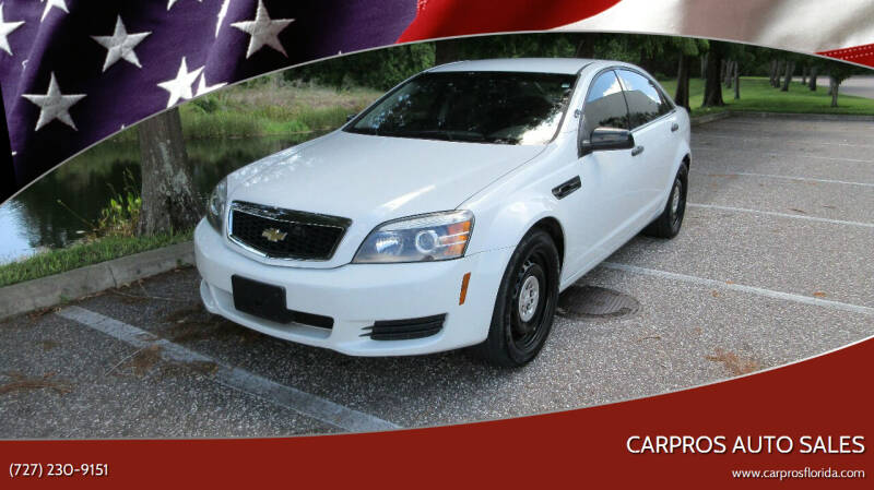 2012 Chevrolet Caprice for sale at Carpros Auto Sales in Largo FL