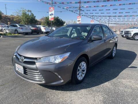 2017 Toyota Camry for sale at Los Compadres Auto Sales in Riverside CA