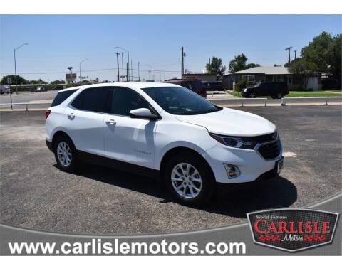 2018 Chevrolet Equinox for sale at Carlisle Motors in Lubbock TX