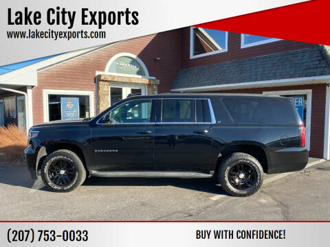 2016 Chevrolet Suburban for sale at Lake City Exports in Auburn ME