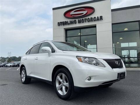 2012 Lexus RX 350 for sale at Sterling Motorcar in Ephrata PA