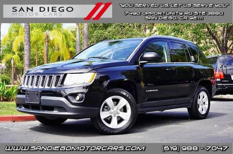 2012 Jeep Compass for sale at San Diego Motor Cars LLC in San Diego CA