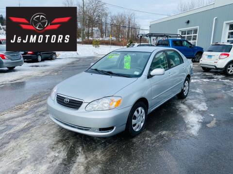 2006 Toyota Corolla for sale at J & J MOTORS in New Milford CT