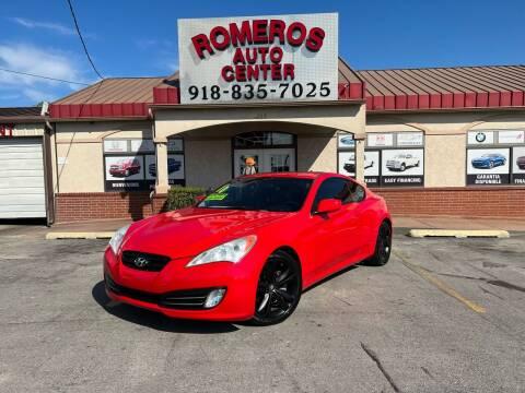2010 Hyundai Genesis Coupe for sale at Romeros Auto Center in Tulsa OK