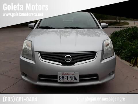 2011 Nissan Sentra for sale at Goleta Motors in Goleta CA