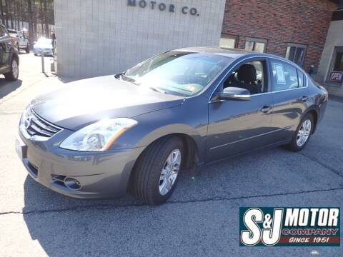 2012 Nissan Altima for sale at S & J Motor Co Inc. in Merrimack NH
