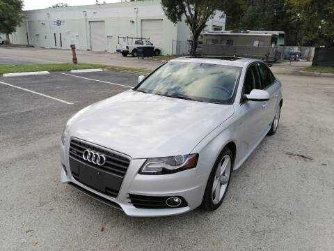 2012 Audi A4 for sale at Best Price Car Dealer in Hallandale Beach FL