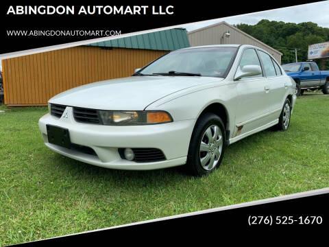 2003 Mitsubishi Galant for sale at ABINGDON AUTOMART LLC in Abingdon VA