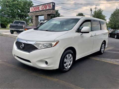 2012 Nissan Quest for sale at I-DEAL CARS in Camp Hill PA