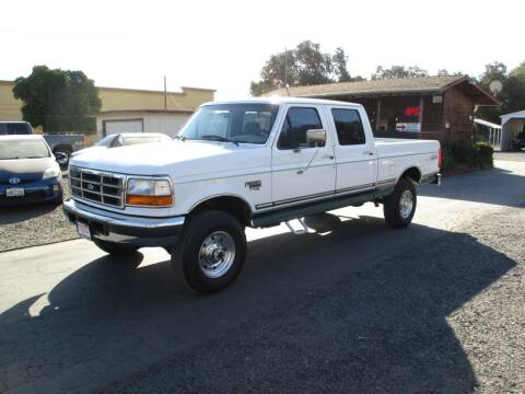 1997 Ford F-250 for sale at Manzanita Car Sales in Gridley CA
