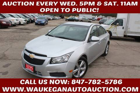 2012 Chevrolet Cruze for sale at Waukegan Auto Auction in Waukegan IL