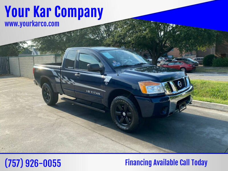 2009 Nissan Titan for sale at Your Kar Company in Norfolk VA