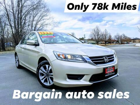 2014 Honda Accord for sale at Bargain Auto Sales LLC in Garden City ID