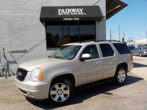 2009 GMC Yukon for sale at FAIRWAY AUTO SALES, INC. in Melrose Park IL