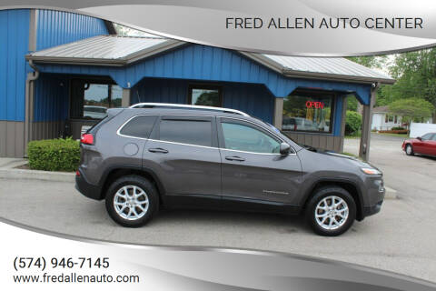 2017 Jeep Cherokee for sale at Fred Allen Auto Center in Winamac IN