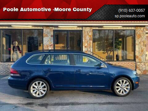 2014 Volkswagen Jetta for sale at Poole Automotive -Moore County in Aberdeen NC