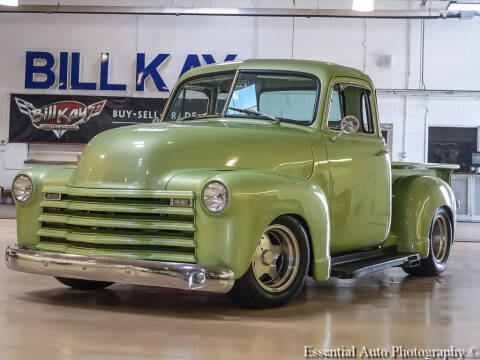 1951 Chevrolet 5 window C10 for sale at Bill Kay Corvette's and Classic's in Downers Grove IL