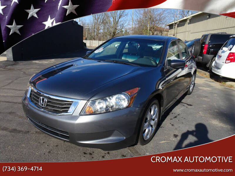 2009 Honda Accord for sale at Cromax Automotive in Ann Arbor MI